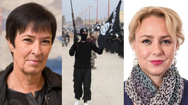 Mona sahlin far norsk kritik