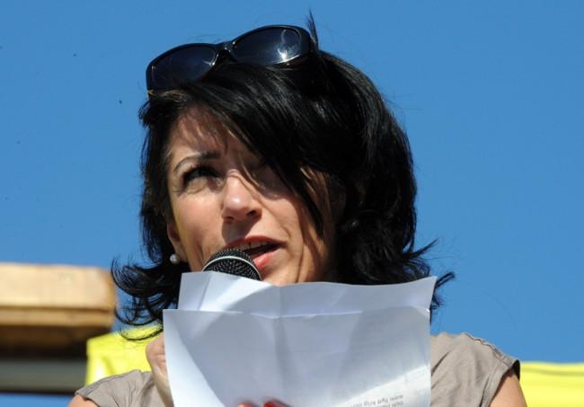 Amineh Kakabaveh (V) kommer inte att ta timout trots partiledningens avståndstaganden från henne. Foto: Anders Henriksson (CC-BY)
