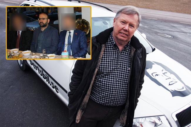 Bert Karlsson tycker Miljöpartiets krishantering är katastrof. Foto: Wikimedia Commons samt trf.nu