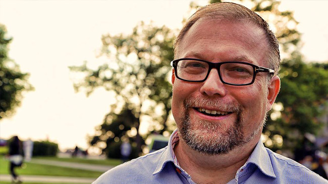 Mikael Jansson (Sd). Foto: Jörgen Fogelklou