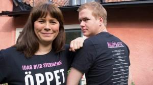 Både Romson och Fridolin kan komma att bytas ut på Miljöpartiets kongress. Foto: Miljöpartiet
