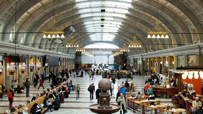Stockholm centralstation. Foto: Michell Zappa, Wikimedia Commons