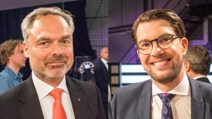 """Åkesson till Björklund: """"Välkommen till verkligheten"""""""