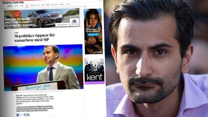 "Moderat riksdagsledamot sågar Dagens Nyheter: ""Agendajournalistik in action"""