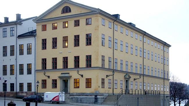 Här håller Högsta förvaltningsdomstolen till på Riddarholmen i Stockholm. Foto: Holger Ellgaard / Wikimedia Commons