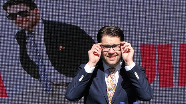 Det ser ut att vända uppåt i opinionen för Jimmie Åkesson. Foto: Björn Bergman / photo2be.com