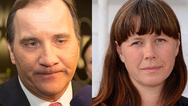 Nu tänker Löfven (t.v) ombilda regeringen efter att det står klart att Romson (t.h) avgår. Foto: Nyheter Idag samt Wikimedia Commons