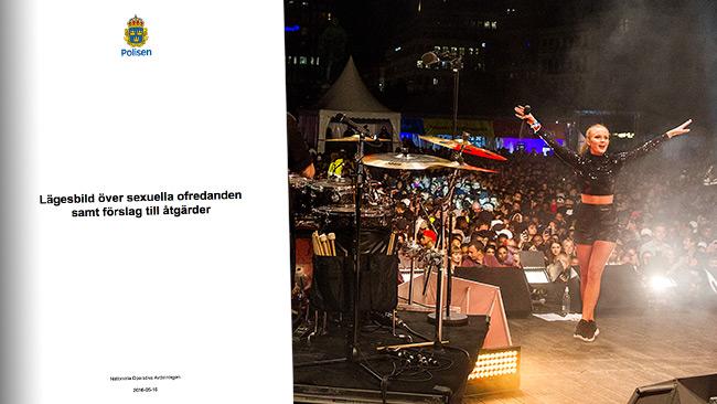 "Ungdomsfestivalen ""We are Stockholm"" omnämns bland annat i polisens rapport. Foto: Pressbild"