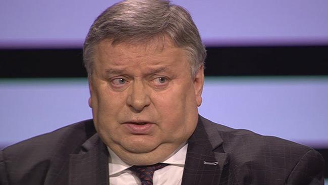 Viktor Tatarintsev i SVT Agenda. Foto: Faksimil  svtplay.se