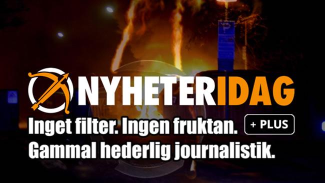 Nyheter Idag har även fräschat upp logotypen när vi ändå håller på.