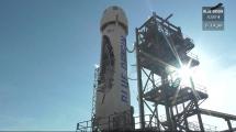 Blue Origin landar raketer i direktsändning