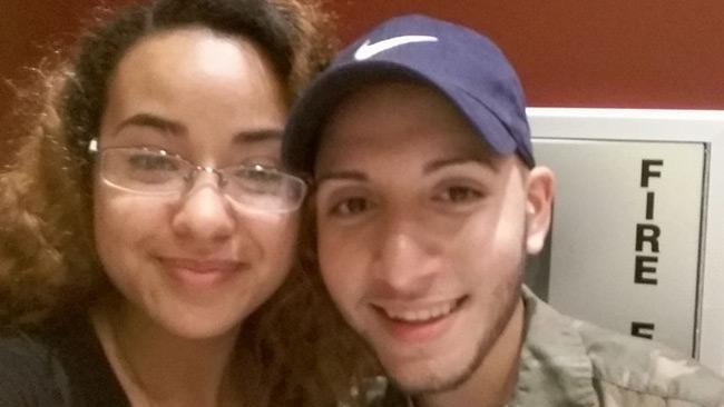 Amber Marie Rodriguez och Omar Capo.