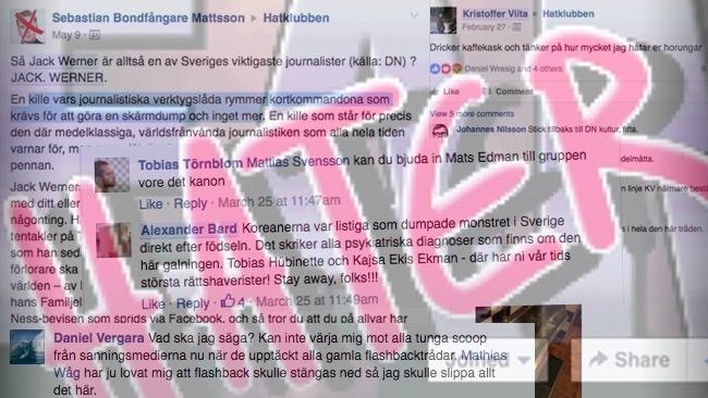 """Mediekändisarnas attacker i mytomspunna Hatklubben – Facebooks """"Roast på Berns"""""""