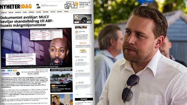 "Mattias Karlssons (SD) stenhårda kritik mot skandalbidragen: ""Då ska de avskedas"""