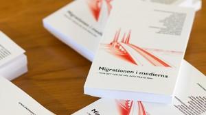 """Boken """"Migrationen i medierna"""" visar att Nyheter Idag inte skiljer sig i tonalitet jämfört med stora """"etablerade"""" medier. Foto: Nyheter Idag"""