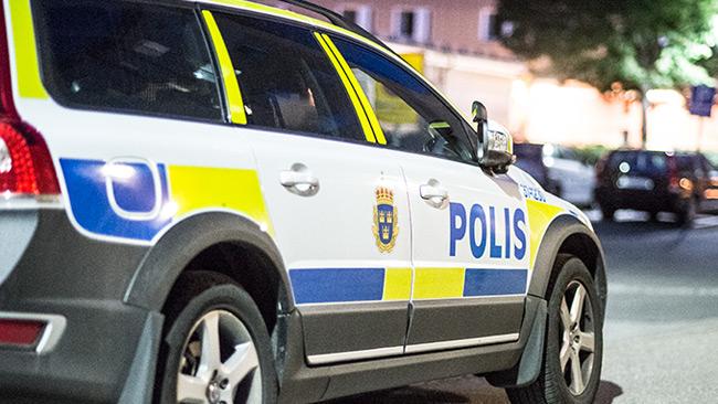 Genrebild. Polisbilen på bilden har inget med händelsen att göra. Foto: Nyheter Idag