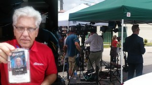 Nyheter Idag har talat med TV-journalisten Wayne Waichunas som befinner sig på plats. Foto: Nyheter Idag