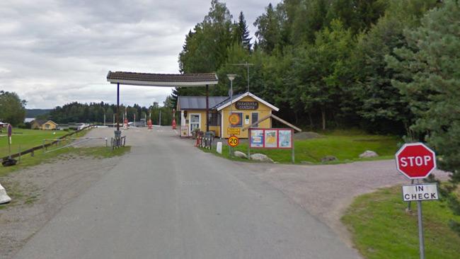 Skottlossningen ägde rum vid en camping i Farstanäs. Foto: Google Maps