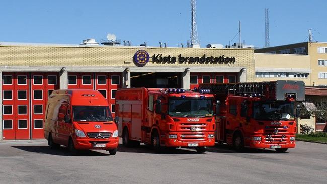 Brandkåren fick larm – Då upptäcks att verktyg stulits från  brandbilarna