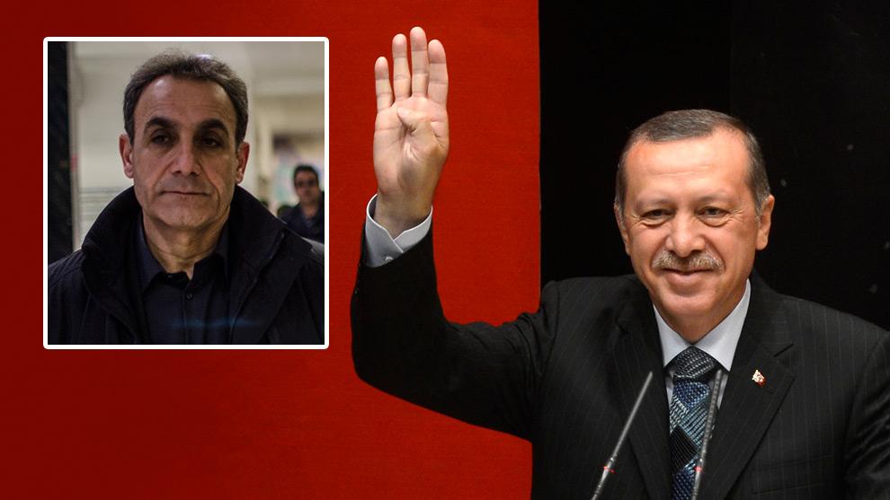 Den kurdiske demokratiaktivisten Rebwar Rashed (infälld i bild) varnar för utvecklingen i Turkiet. Foto: Nyheter Idag samt Wikimedia Commons