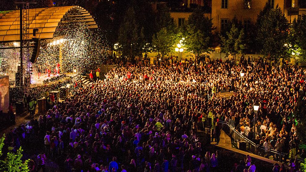 Sexövergreppen fortsätter. Bilden är från förra årets festival. Foto: CC Stockholms stad
