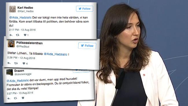 Nyheten väcker starka reaktioner på Twitter. Foto: Faksimil Twitter / regeringen.se