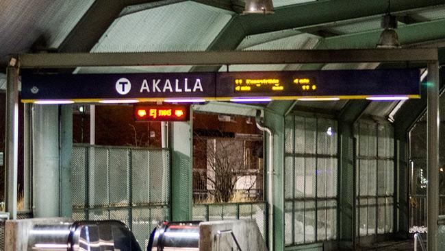 Tunnelbanestation i Akalla. Bilden är tagen vid ett annat tillfälle. Foto: Nyheter Idag