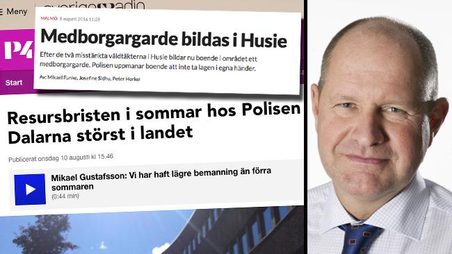 Bilden är ett montage. Foto: Faksimil Sydsvenskan samt Sveriges Radio. Foto på Eliasson (t.h): Lars Hedelin