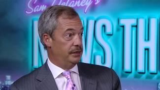 """Mustaschprydd Nigel Farage: """"Jag förstörde extremhögern i Storbritannien"""""""