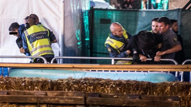 Tafsvakternas skräcknatt: Exklusiva bilder inifrån sexbrottsfestivalen We Are Sthlm