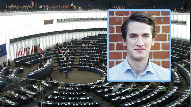 EU-parlementet är viktigare än svensk folkvilja menar Henrik Edin. Foto: Wikimedia Commons / Pressbild luf.se