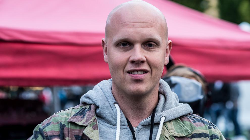 Journalisten Joakim Lamotte närvarade på We Are Sthlm-festivalen, men avbröts av kommunikationsansvarig. Det berättar han på Facebook. Foto: Nyheter Idag