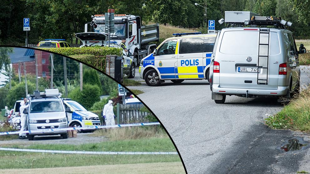 Polisen fick stenar kastade emot sig. Foto: Nyheter Idag