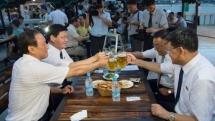 Här är Nordkoreas första ölfestival