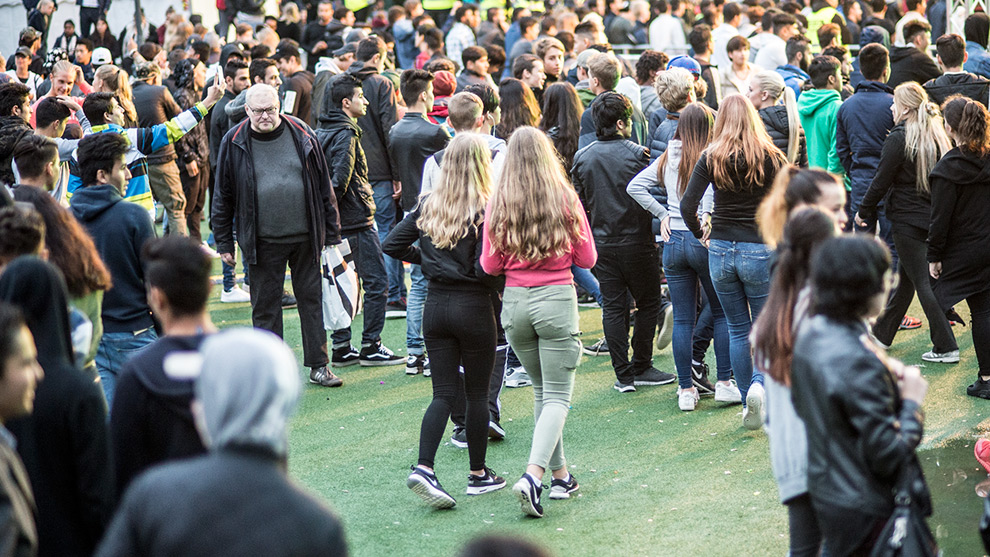 Publikbild på We Are Sthlm. Foto: Nyheter Idag
