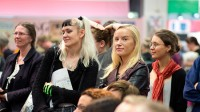 Publik på Bokmässan i Göteborg. Foto: Niklas Maupoix / Pressbild Bokmässan