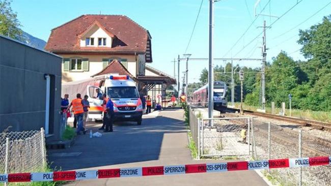 Sex personer blev skadade i attacken. Foto: Twitter
