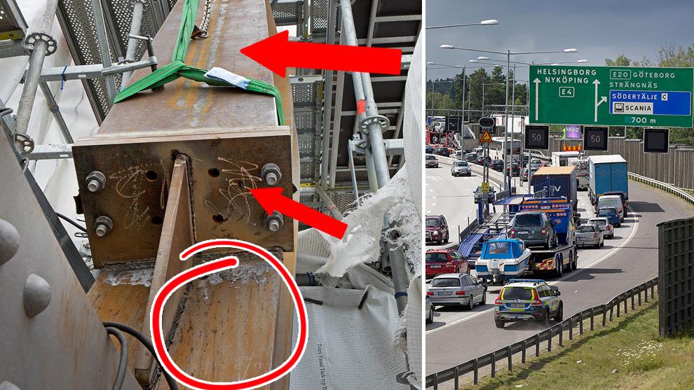 Pilar och grafik är gjort av Nyheter Idag. Foto: Trafikverket