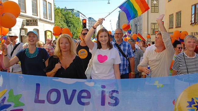 Birgitta Ohlsson firar mångfald. Foto: Wikimedia Commons