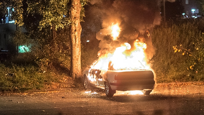 Nya bilbränder på måndagen – Både Malmö och Stockholm