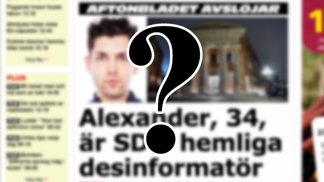 Historien om Putilov väcker frågor. Bilden är ett montage. Foto: Faksimil Aftonbladet