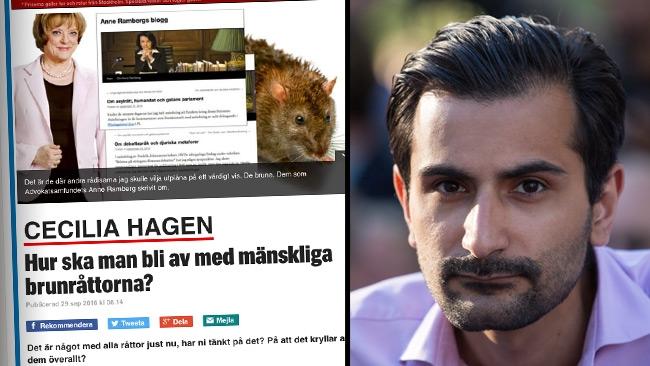 """Expressens publicerar nazistretorik – Vill likvidera """"mänskliga brunråttor"""""""