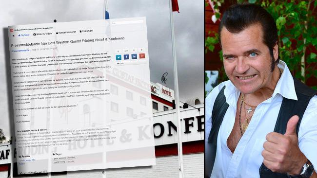 Hotellet bytte omgående värdegrund efter att de riskerade en miljonaffär. Foto: Faksimil Mynewsdesk samt Frankie Fouganthin