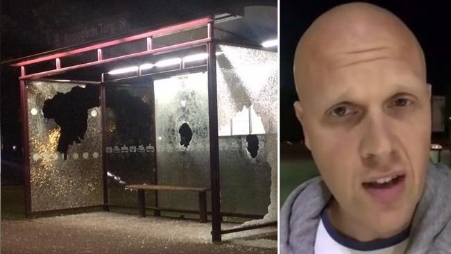"""Lamottes raseri mot stenkastarna i Trollhättan: """"Snart kommer ni få så mycket skit så det fattar ni inte"""""""