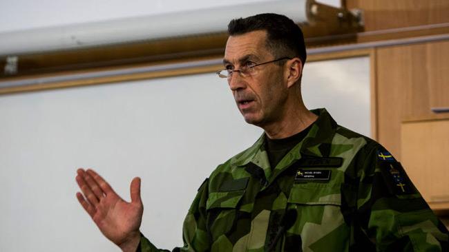 Micael Bydén. Foto: Torbjörn F Gustafsson/Försvarsmakten