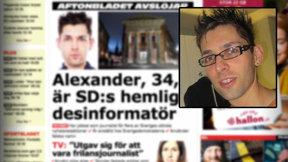 Putilov är djupt kritisk till Aftonbladet och menar att de har fel om att han ligger bakom debattartikeln. Foto: Faksimil aftonbladet.se
