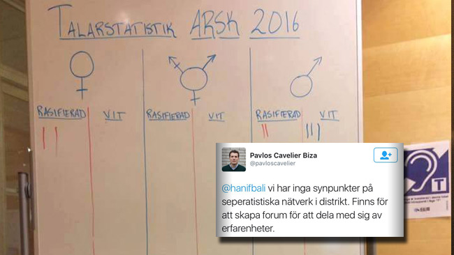 SSU krishanterar den växande rasistskandalen genom att radera Tweets.