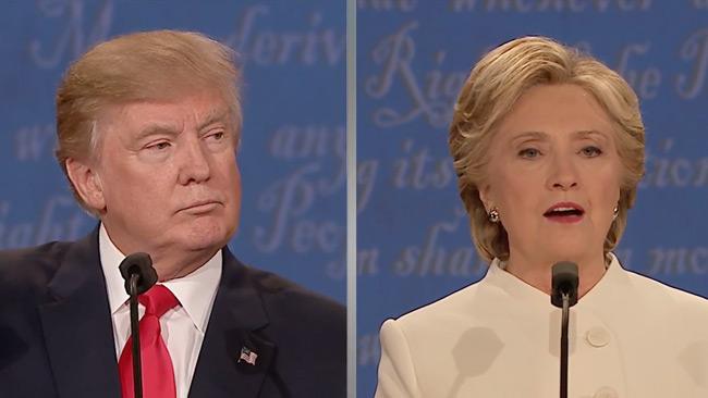 Den tredje debatten var den bästa hittills, menar bedömare. Foto: Faksimil Youtube