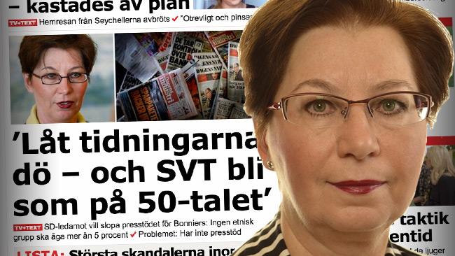 Hagwall bör lämna alla sina politiska uppdrag. Foto: Faksimil Aftonbladet samt riksdagen.se