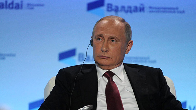 Rysslands president Vladimir Putin. Foto: Kremlin.ru